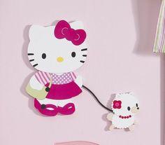 Hello Kitty & Puppy Wall DEcor