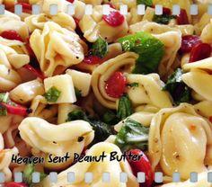 Cheese Tortellini Pasta Salad