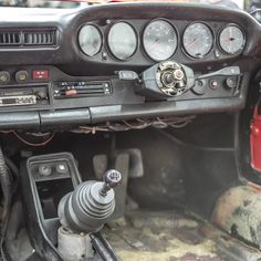Stripping down of the car in early stages of restoration - car interior. Car Restoration, Car Ins, Porsche 911, Challenge, Interior, Cutaway, Car, Design Interiors, Interiors