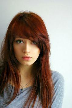 Hair With Cute Side Bangs 2014