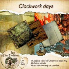 Clockwork Days CU paper pack
