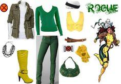 Easy Rogue Costume Idea