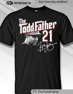 Todd Frazier, Cincinnati Reds Star, The Toddfather shirt #MLBPA #CincinnatiReds
