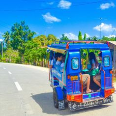 We believe the journey is more important than the destination. One of our favourite pictures from #philippines #boholisland while we were touring the island by motorcycle. #tuktuk  #bohol #scenicroad #travel #beach #island #itsmorefuninthephilippines  #travelingram #mytravelgram #visiting #travels #travelphotography #tagsta_travel#beauty #instago #ig_worldclub #worldcaptures #tourism #worldplaces #worldingram #chocolatehills #kidstoschool