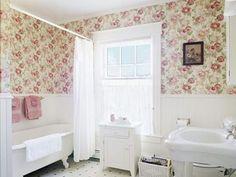 tile half wall wallpaper - Google Search