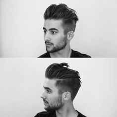 mens slicked back hairdo - Google Search