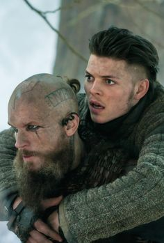 Floki and Ivar in The Great Army (4.17)