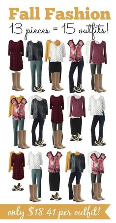 Frugal Fall Fashion only 18 per outfit Coupon Closet Look Fashion, Womens Fashion, Fashion Tips, Fashion Trends, Diy Fashion, Fashion Ideas, Fashion Fall, Fashion Jewelry, Fashion Outfits