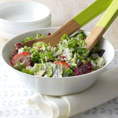 Berry Tossed Salad Recipe from Taste of Home -- shared by Krista Smith Kliebenstein of Broomfield, Colorado