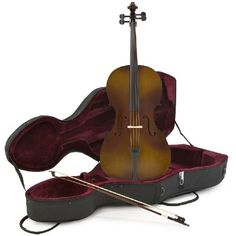 Gear4Music Student 1/2 Size Cello with Case Antique Fade by This high quality half size (1/2) Cello outfit offers exceptional value for money coming as a complete package including a reliable wooden bow and a lightweight hard case to provide complete protectio http://www.MightGet.com/may-2017-1/gear4music-student-1-2-size-cello-with-case-antique-fade-by.asp