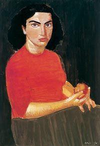 Portrait of a woman - Nikos Nikolaou Pop Art, Art Brut, Art Database, Drawing, Portrait, Oeuvre D'art, Land Scape, Les Oeuvres, Illustration
