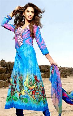 Picture of Stylish Blue Color Designer Suit