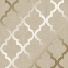 Buy **Sample** Camden Trellis Wallpaper Cream / Gold by Henderson Interiors from I love wallpaper - @ I Love Wallpaper stock a wide range of wallpaper including an extensive collection of fashionable wallpapers. Free UK Delivery on orders over 50 Vinyl Wallpaper, Cityscape Wallpaper, Office Wallpaper, Print Wallpaper, Home Wallpaper, Pattern Wallpaper, Bathroom Wallpaper, Cream And Gold Wallpaper, Metallic Wallpaper