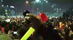 No Comment - Dimostrazioni di massa contro il governo a Bucharest