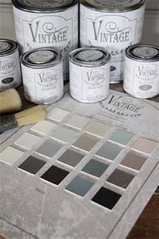 Fargekart, vintage paint, jeannedarcliving