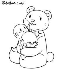 Baymax as the bear Drawing Challenge, Art Challenge, Manga Poses, Manga Drawing Tutorials, Draw The Squad, Art Poses, Drawing Reference Poses, Drawing Base, Cute Drawings