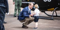 "When the Duke of Cambridge crouches down to Prince George's level, he's able to look into the toddler's eyes. Experts consider this to be an ""active listening"" technique, People reports, and it can help children feel like what they're saying really matters to their parents."