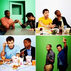 Shawn And Gus: Best Friendship Ever! Shawn And Gus, Shawn Spencer, Best Tv Shows, Favorite Tv Shows, Carlton Lassiter, Psych Tv, Psych Quotes, Great Comedies, Movies Playing