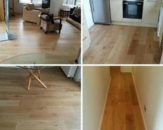 Light Oak Wood Flooring Installation to Rooms