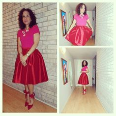 #Repost from 2015 of my first #ValentinesDay look with #Hadley in red! #LoveJustFab #fabshionista #ambsdr @just