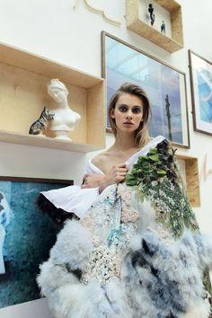 Art by Hugo Cantegrel, fashion by Martin Hanly