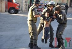 Israeli soldiers kidnapping Palestinian children all the time.