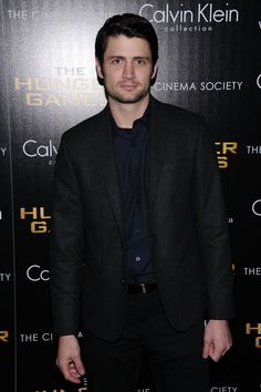 """James Lafferty Photos - The Cinema Society & Calvin Klein Collection Host A Screening Of """"The Hunger Games"""" - Inside Arrivals - Zimbio"""