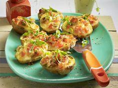 Fingerfood - herzhafte Snacks für Party und Buffet - bruschetta-kartoffeln