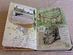 Awesome travel journal! I would never have the skills, time or patience to draw such masterpieces in my journal.