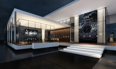 IWC Messestand an der SIHH 2015 Interior Rendering, Interior Architecture, Stairs, Home Decor, Real Estates, Architecture, Homemade Home Decor, Stairway, Staircases