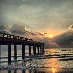 St. Augustine Pier - Good Morning!