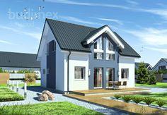Domy półtorakondygnacyjne Point 118.14 || #houses #domy || Więcej na: http://www.danwood.pl/poltorakondygnacyjne/744.htm