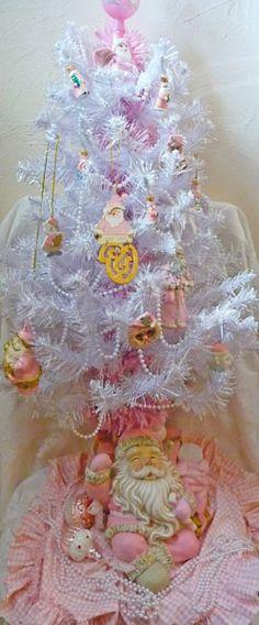 Shabby Pink Christmas