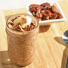 Peanut Butter Chocolate Overnight Oats