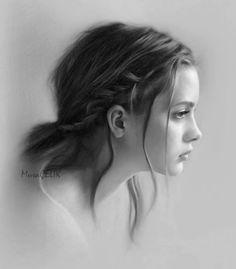 Pencil drawing by Musa Celik