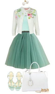 Classy church outfit-Easter inspiration. by angela-windsor on Polyvore