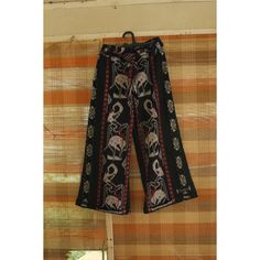 """Freedom makes a huge requirement of every human being. With freedom comes responsibility. For the person who is unwilling to grow up, the person who does not want to carry his own weight, this is a frightening prospect.""""― Eleanor Roosevelt  Pallazo High Waist Tenun Troso motif Wayang  OPEN ORDER  IDR 210.000  #highwaist #expalife #uicantik #iyengindonesia #74thindonesia #indonesiamerdeka #plussize"""