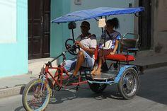 Bici-cab in Trinidad, Cuba
