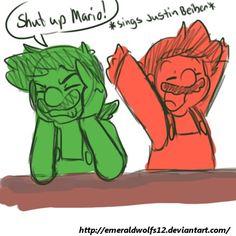 Oh,Mario!!!Shut up!