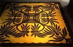 Hala Tree Hawaiian Quilt