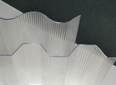 PC Wellplatten, Lichtplatten - Sinus 76/18 und trapez 70/18   Eignet sich auch ideal als Sichtschutz