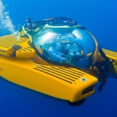 This is the only luxury submarine charter company in the world
