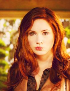 Karen Gillan as Lily Evans Karen Gillan, Karen Sheila Gillan, Divas, Beautiful Redhead, Beautiful People, Nice People, Piercings, Lily Evans, The Doctor