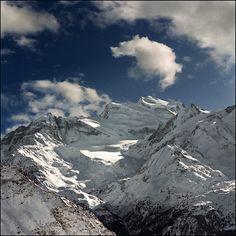 Verbier 1 - View of the peak, via Flickr.