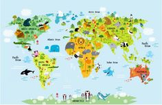 Harita M0073 - Duvar Kağıdı