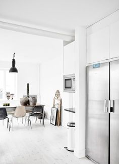 An eclectic Swedish home