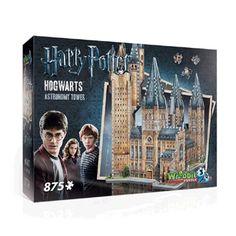 Wrebbit 3D puzzel Harry Potter Hogwarts Astronomy Tower - 875 stukjes