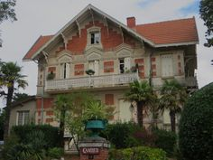 "Villa ""Carmen"", art nouveau, Ville d'Hiver, Arcachon, Gironde, Aquitaine, France. 