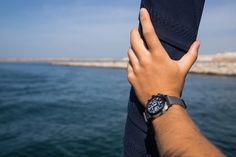 Photo : #mybriston by Sylvain & Kevin #morocco #sailing #watch #briston #clubmaster #alpinehunter #7d7c #adventurers #globetrotters