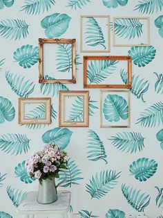 Leaves wall DIY made by @Irina P. http://www.irinahp.com/blog/2017/6/changes-at-home-part-1 #homedecor #wallmural #design #bedroom #wallideas #Pixers #amazing
